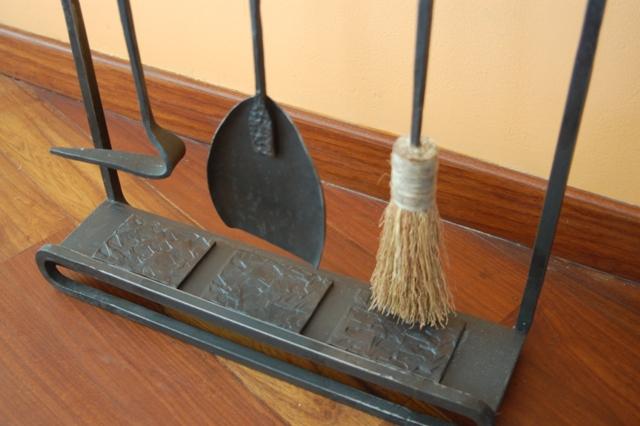 herramientas de chimenea