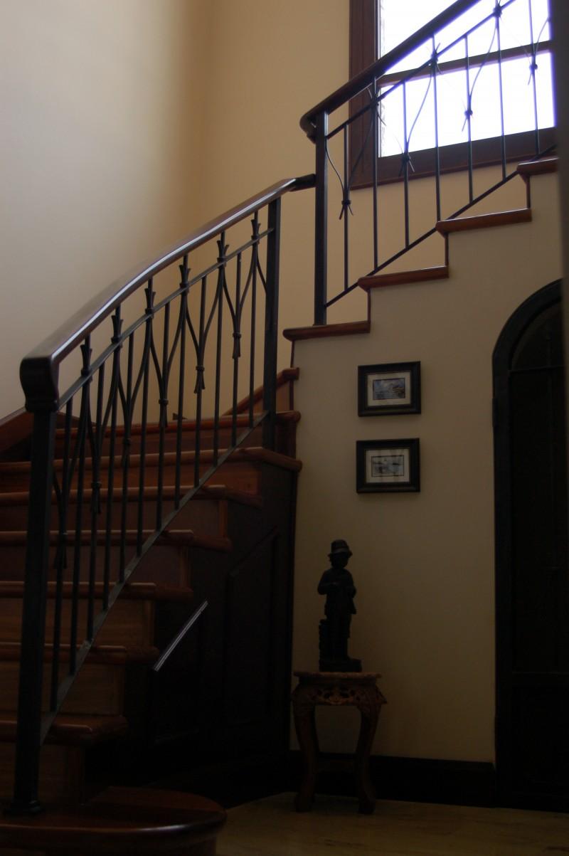 Escalera Semicurva