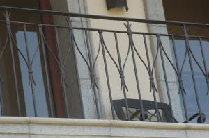 baranda balcon naranjo