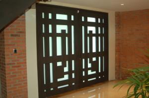 puerta A Diaz vista interna